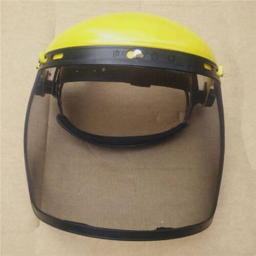 Safety Anti-Splash Welding Helmet Steel Mesh Plastic Face Mask Protection Helmet