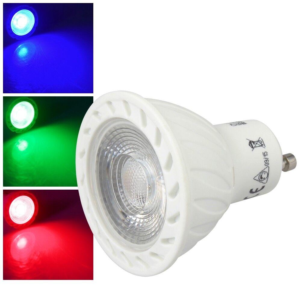 Reflector LED GU10 230V 5W  Lds-50    Ein-Farbiges Bombilla Foco, Lámpara