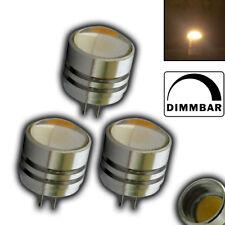 3x G4 1,5W LED 80° dimmbar SMD 12V Warmweiß Leuchtmittel Halogenersatz Halogen