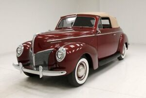 1940 Mercury 2 Door Convertible