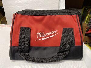 "New Milwaukee M12 11"" x 9"" x 8"" Heavy Duty Contractors Tool Bag"