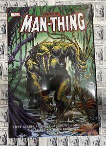 Man-Thing Omnibus HC, Frank Brunner Variant, (W) Roy Thomas, NM (2021) Marvel