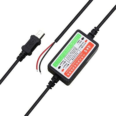 Hardwire Car Charger power cord for Garmin nuvi 1390 1370t 1350 1450 1490 GPS