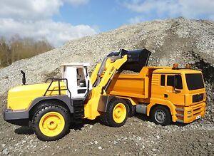 Camion à benne basculante de camion de chargeur de roue d'excavatrice de Rc avec 8 fonctions 401721-2