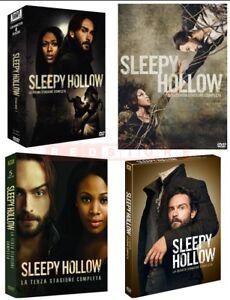 SLEEPY HOLLOW - STAGIONI DA 1 A 4 (18 DVD) COFANETTI UNICI, NUOVI, ITALIANI - Italia - SLEEPY HOLLOW - STAGIONI DA 1 A 4 (18 DVD) COFANETTI UNICI, NUOVI, ITALIANI - Italia