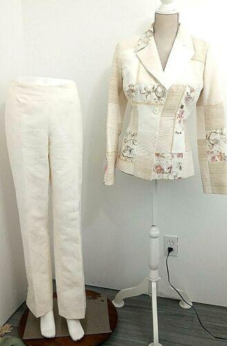 Women's Vintage Alberto Makali 2 Piece Pant Suit J