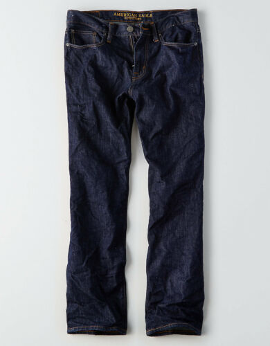 40x30 Dark Rinse American Eagle Men/'s Relaxed Straight Jeans NWT