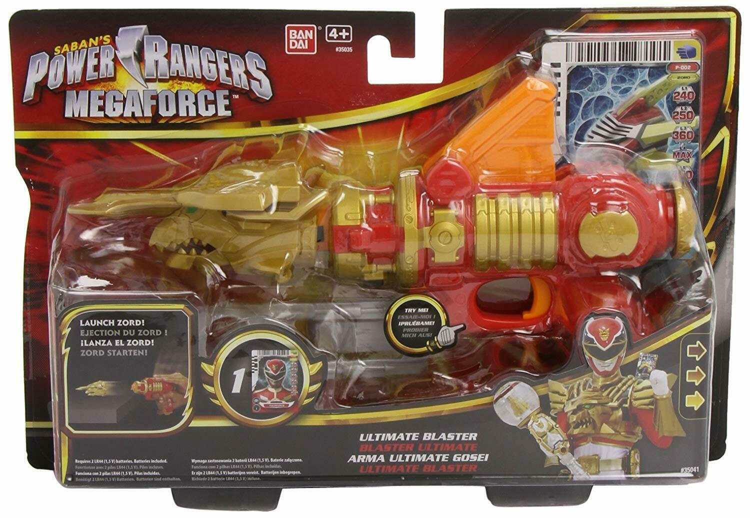 POWER RANGERS MEGAFORCE ULTRA BLASTER ZORD ZORD ZORD New sealed 1ab0eb