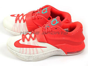 more photos 69325 ce505 Details about Nike KD 7 VII XMAS EP Christmas Bright Crimson/Ivory Kevin  Durant 715856-613