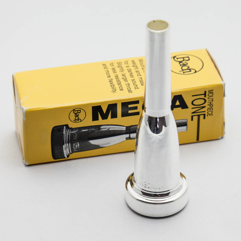 Auténtica Auténtica Auténtica Plata Megatone Trompeta Boquilla Bach, 5 C Nuevo  envío rápido  b0f832
