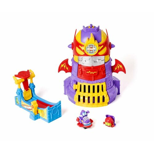 Super Zings Serie 3 Spielzeugset Adventure  Power Tower Assault 2 Figuren