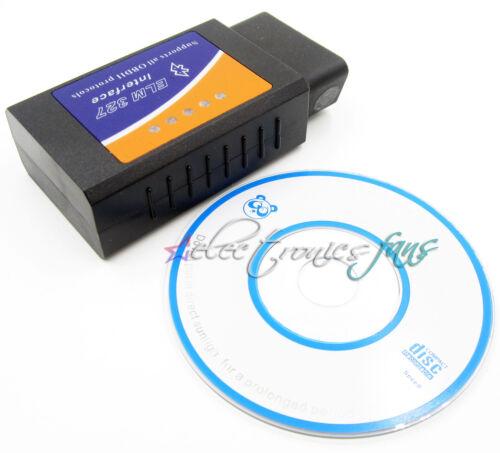 Mini ELM327 Bluetooth OBD2 OBDII Für iPhone Auto Diagnose Schnittstelle Scanner