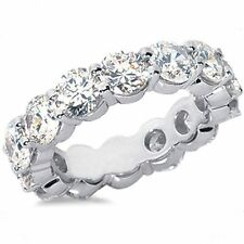9.00 carat Round DIAMOND PLATINUM Band ETERNITY RING 12 x 0.75 ct GIA F VS1/VS2