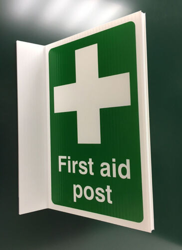 500x300mm First Aid Post Projecting Sign 04353P
