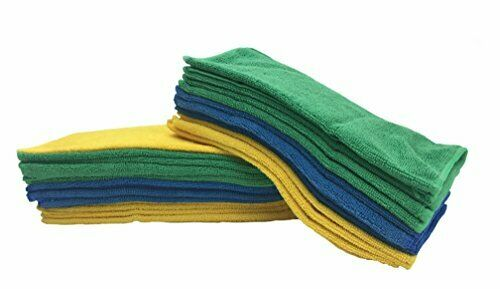 5 Pack 400gsm Microfiber Car Cleaning Cloth Glass Screen Cloth 11.8/'/'x 27.5/'/'