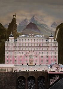 THE-GRAND-BUDAPEST-HOTEL-Movie-PHOTO-Print-POSTER-Textless-Film-Art-Anderson-002