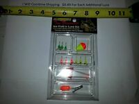 Ht Enterprises 13 Piece Helicopter Jig Kit Ice Fishing Kit Non Lead Lures