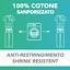 miniatura 4 - Divisa Ospedaliera in cotone 100% scollo a V per medico infermiere oss estetista