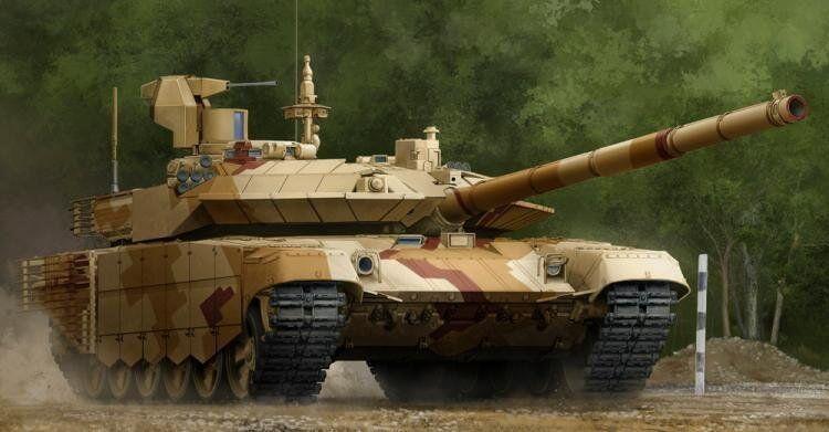 Trumpeter 1 35 Russian T-90S Modernized Mod.2013
