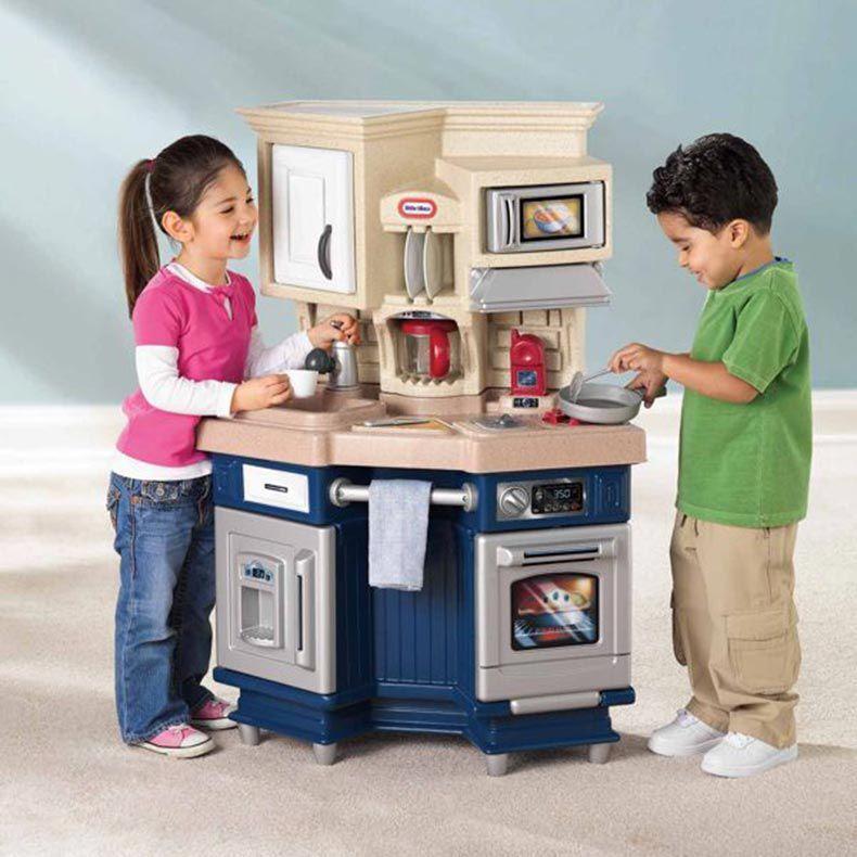 Liten Tikes Super Chef Kitchen, liten Kid Kiddler förskolan Spela roll