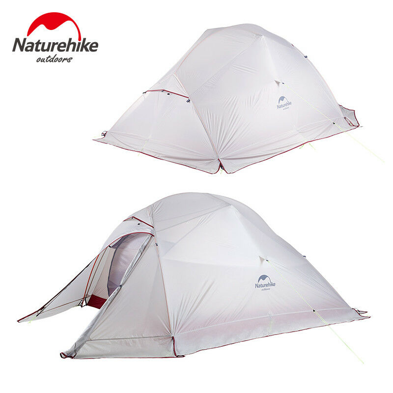 1-3 Person Upgrade Ultralite 20D Self  Standing Silicon Double layer Camping Tent  online cheap
