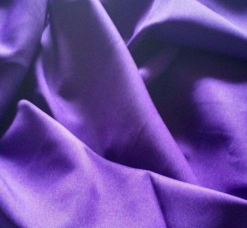 """Free swatches. Purple Gabardine Tropical Polyester 60 to 62/"""" wide"""