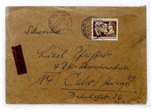 Cq251 Allemagne * Freiburg * 1942 Cover Gamme ComplèTe D'Articles