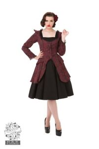 Image Is Loading Victorian Inspired Steampunk Pin Up Swing Dress