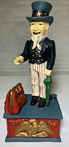 Uncle Sam Coin Bank