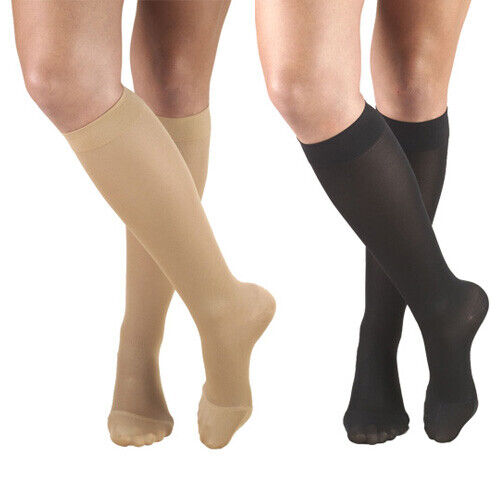Truform 0373 Opaque Knee High 15-20 Mmhg Compression Therapy Support Stockings