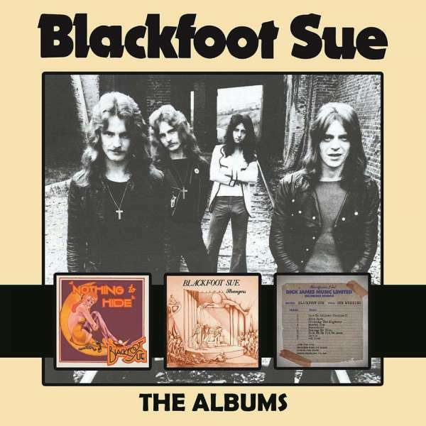 Blackfoot Sue - Albums, The New CD