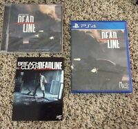 NEW Breach and Clear Deadline PS4 + Soundtrack by Limited Run Games 400 Made