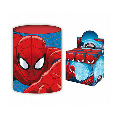 Präsentations-zubehör Schlussverkauf Spiderman Spider-man Stifthalter Und Bleistifte In Der Dose 7,5cm Dia 10 Cm H