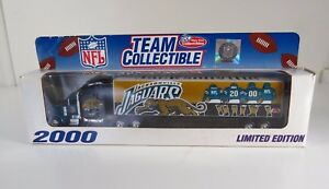 NFL-2000-Team-Collectible-Semi-Truck-Diecast-Replica-Jacksonville-Jaguars