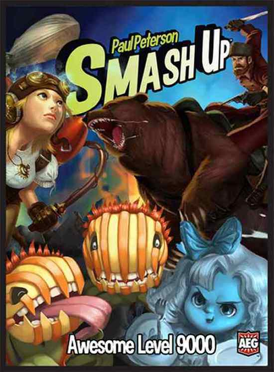AEG: Smash Up Board Card Game - Awesome Level 9000 (New)