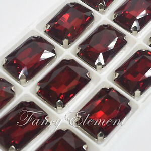 3 mm 30 pedrería en rojo