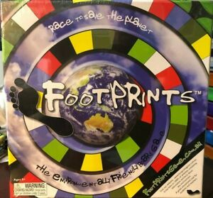 FOOTPRINTS-The-Environmentally-Friendly-Board-Game-BRAND-NEW-amp-SEALED-RARE