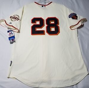 new concept 9c35b 6f016 Details about Authentic Majestic SZ 48 XL San Francisco Giants BUSTER  POSEY, COOL BASE JERSEY