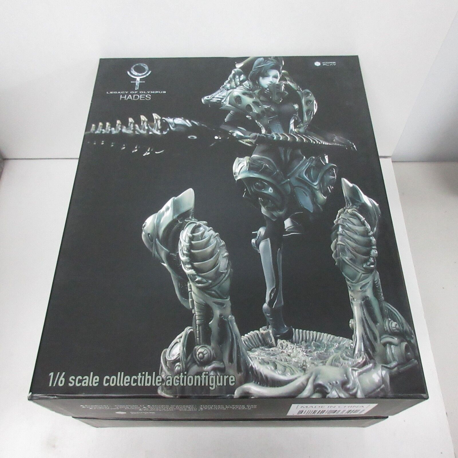 Core Play Legacy of Olympus 1/6 Scale Hades Action Figure