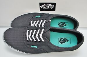 be17b50a8c Vans Men s LPE Micro Herringbone Black Bisque Green VN-0RRR9YZ Size ...