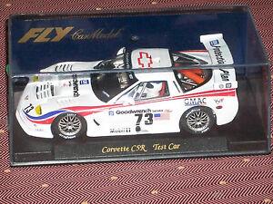 1/32 SLOT CAR FLY CHEVROLET CORVETTE C5R TEST CAR GMAC GOODWRENCH Ref.E121 #73