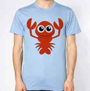 a8f1e7315 Lobster T-Shirt Cooking Food Bite Funny Clipart Graphic Design Top ...