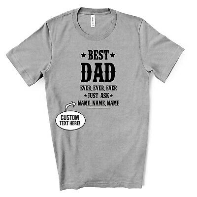 Awesome DAD T Shirt Mens Womens Top Funny Fathers Day Gift