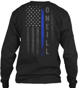 Oneill-Family-Thin-Blue-Line-Gildan-Long-Sleeve-Tee-T-Shirt