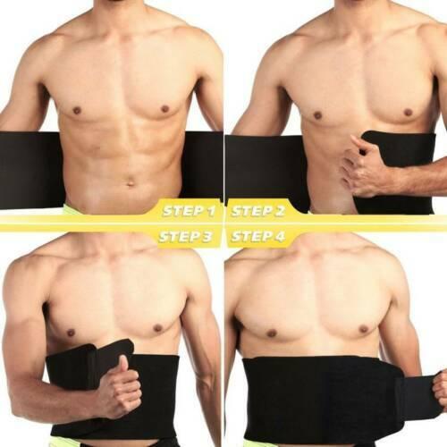 Unisex Sweat Thermo Slim Body Shaper Sauna Belt Waist Cincher Girdle Shapewears