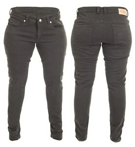 RST-de-pitillo-para-mujer-negro-2225-Aramida-Vaqueros-PROTECTOR-Jeans-Motos