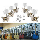 Guitar String Tuning Pegs Locking Tuners Keys Machine Heads 3L+3R Chrome