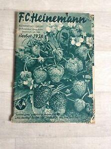Das Bild Wird Geladen Alter Garten Katalog  Versandhaus 1938 Heinemann Gemuese Blumen