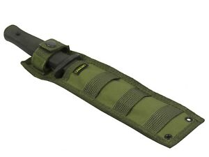 Scabbard KNIFE Pouch Case molle olive od green Tactical paintball bag Waterproof
