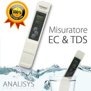 MISURATORE-EC-amp-TDS-TDS-TESTER-CONDUTTIVIMETRO-conducibilita-DIGITALE-TEMPERATURA